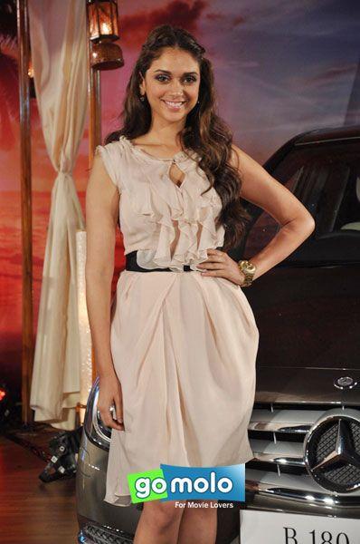 Aditi Rao Hydari at the launch of Mercedes Benz's new B Class diesel car in Mumbai