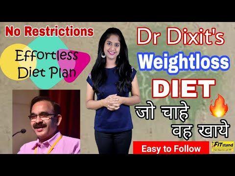 dr dixit diet plan chart