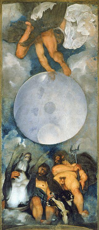 Jupiter, Neptune and Pluto by Caravaggio