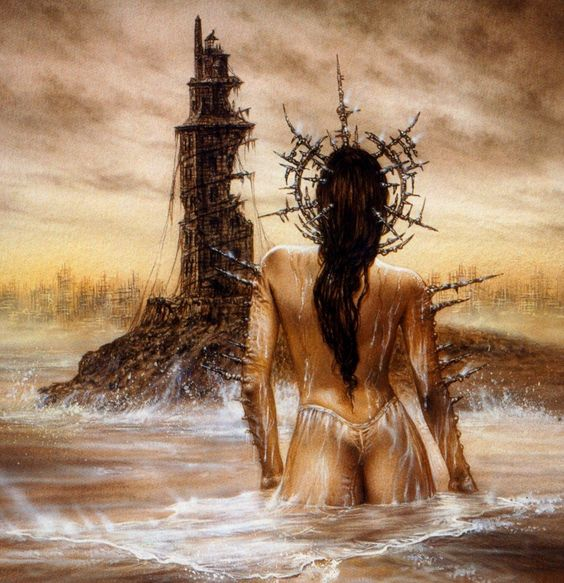 III Millenniums Lighthouse luis Royo