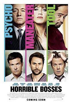Horrible Bosses (2011) - Jason Bateman, Jason Sudeikis, Charlie Day - 4.2/5