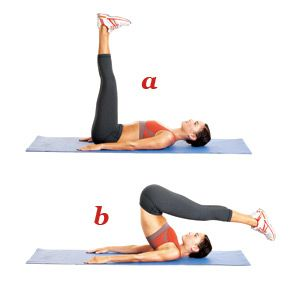 Pilates exercise and abs on pinterest for Floor exercises for abs