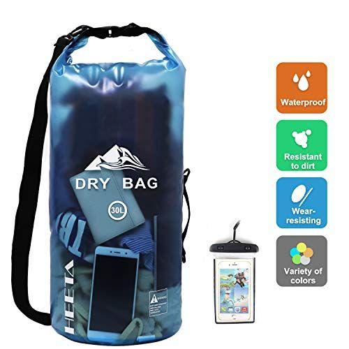 Heeta Waterproof Dry Bag For Women Men Roll Top Lightweight Dry Storage Bag Backpack With Ph Waterproof Dry Bag Dry Bag Backpack Bags