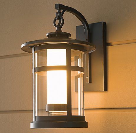 Restoration Hardware Rutherford Large Outdoor Sconce Porch Lighting Outdoor And Outdoor Lighting