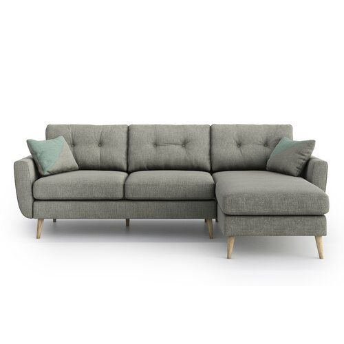 Zipcode Design Anabella Reversible Corner Sofa In 2020 Corner Sofa
