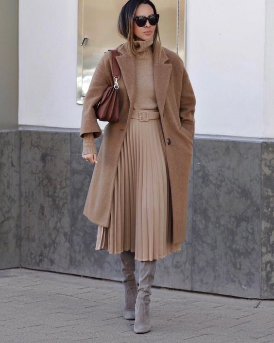 Бежевое пальто 2020: идеи, которые помогут выглядеть красиво (+27 фото) | Новости моды