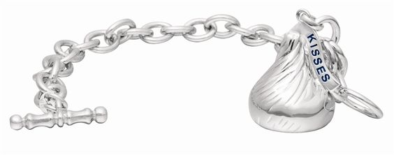 Hershey's Kisses Sterling Silver Charm Bracelet. Hershey's Kisses. Hershey's Kisses. Hershey&#39 ...