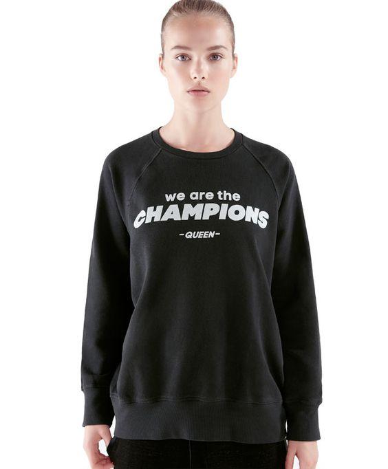 We are the Champions sweatshirt - OYSHO