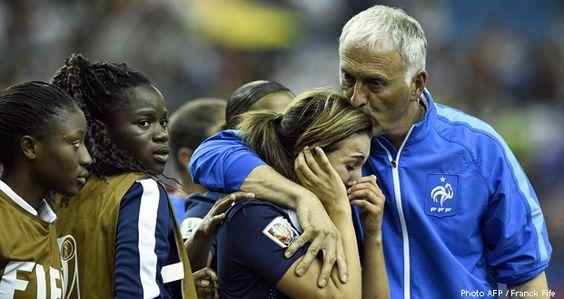 Equipes de France - L'Allemagne brise le rêve des Bleues - FFF