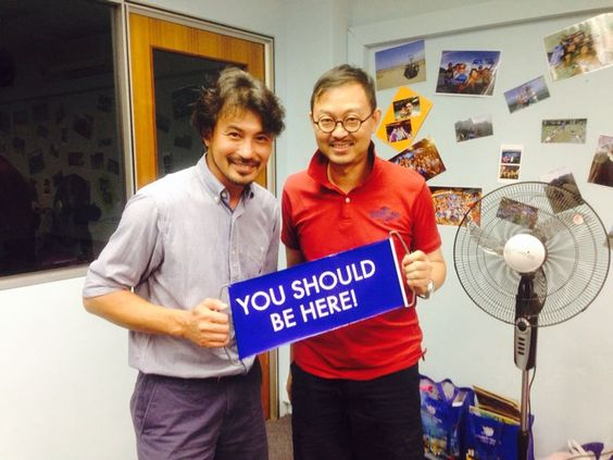 With Darren Lim
