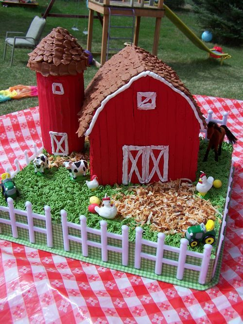 from Tao of crafts several clever cake ideas
