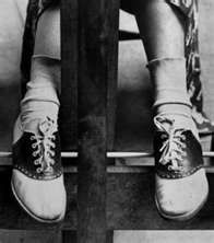 Bobby Sox and Saddle Shoes  1950's