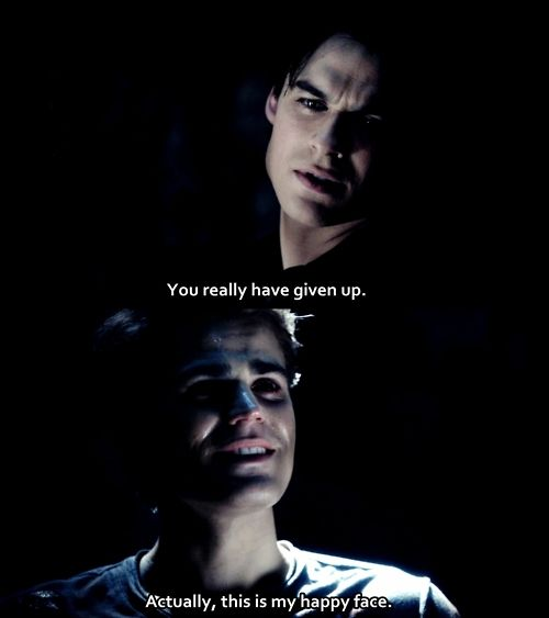 The vampire diaries damon salvatore quote ian for Damon quotes