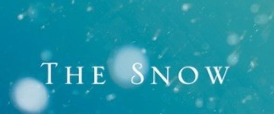"The book we're talking about: ""The Snow Queen"" By Michael Cunningham"