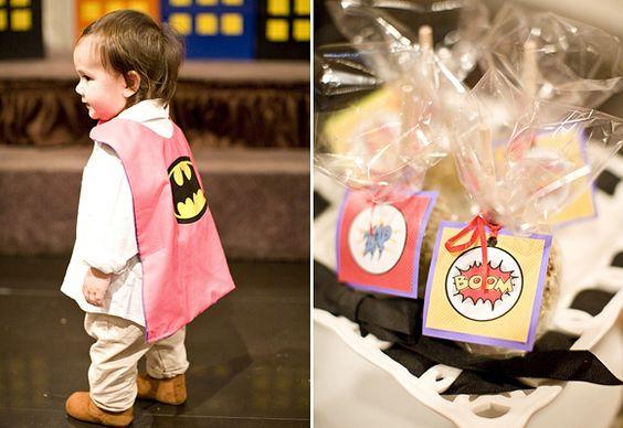 Superhelden Kindergeburtstag für Jungen |