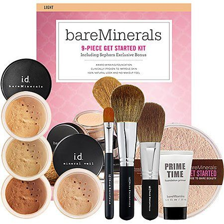 Bare Escentuals Sephora Exclusive Get Started Kit (74 Value) $60