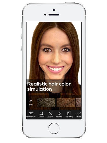 Las mejores apps de belleza beauty-app-hair-color-by-modiface