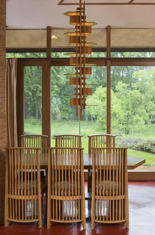 Frank Lloyd Writght - Olfelts Residence - dining area