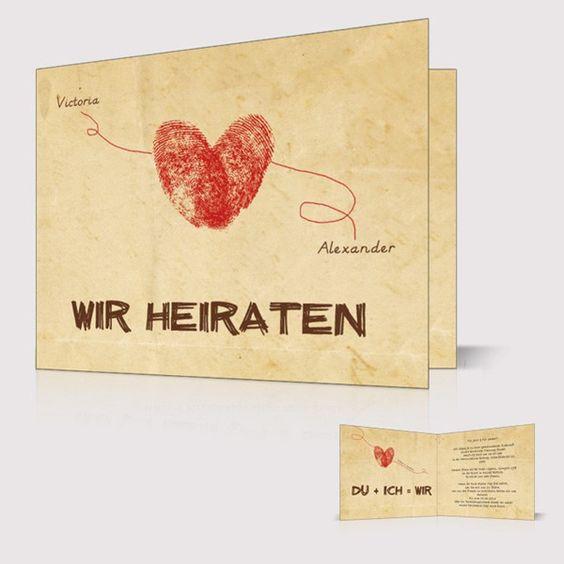 hhochzeitskarte packpapier fingerabdruck herz linie namen vintage p opb257 pink rot. Black Bedroom Furniture Sets. Home Design Ideas