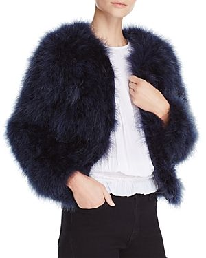 PELLOBELLO FLUFFY FEATHER FEVER JACKET. #pellobello #cloth #
