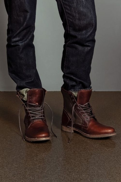 Men&39s Jeans Tucked Into Boots. | Men&39s Fashion So Awesome