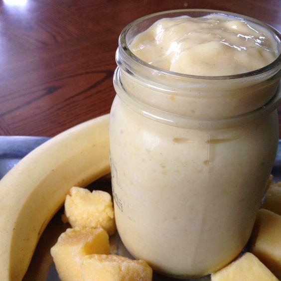 Banana Mango Smoothie!  So many great recipes & nutrition tips!