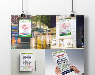 Raccolta di alcuni progetti pubblicitari realizzati nel corso degli anni
