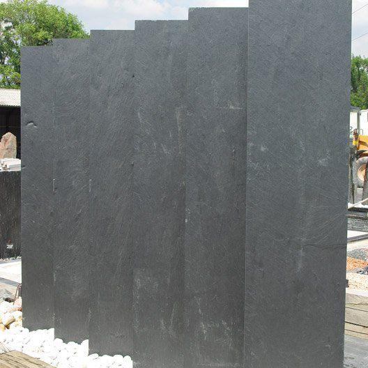Panneau Ardoise Plein L 200 X H 50 Cm Noir Avec Images