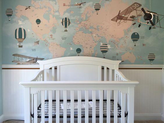 Little Hands Wallpaper Our Baby's nursery!