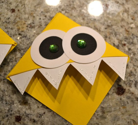 Yellow Monster by sams, via Flickr-- probably the best idea to make bookmarks with my students.