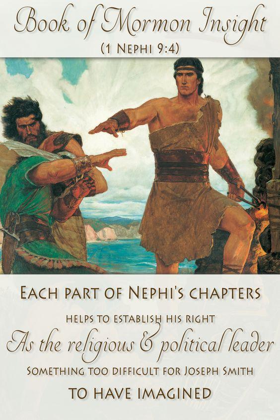 An analysis of joseph smiths book of mormon