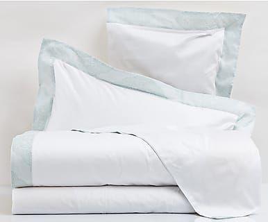 Completo letto in cotone Beatrice Jcd acqua, matrimoniale