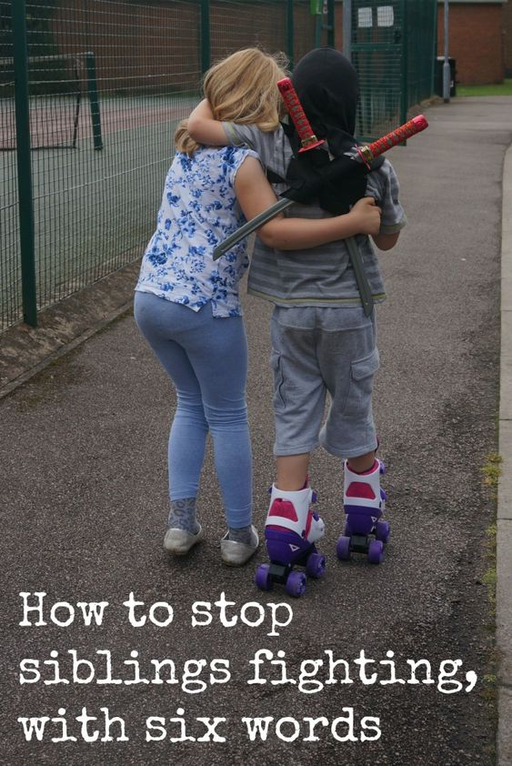 We all want to know how to stop siblings fighting, I think I've found a brilliantly simple trick. Disclaimer –...