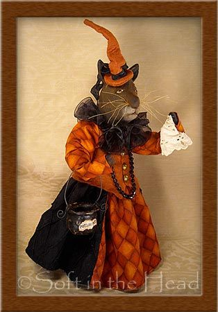 """""""Miss Evil-lynn"""" Spooky Feline 2011"""