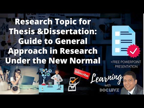 Learning With Doc Levz Youtube Dissertation Free Powerpoint Presentation Thesis