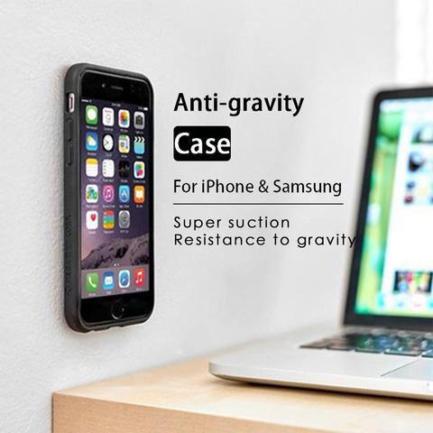 funda iphone anti gravity