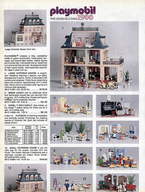 Playmobil victorian house this was my favourite thing as for Victorian home catalog