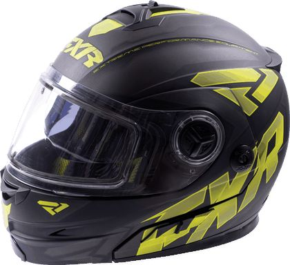 FXR Racing - Fuel Modular Helmet Non Electric Shield