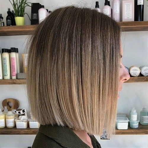 36 Ombre Brown To Blonde Short Hair Beautiful Brown To Blonde Ombre Short Hair Blonde Ombre Short Hair Short Ombre Hair Brunette Bob Haircut