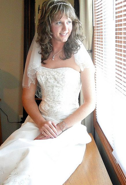 Britney in her sister's wedding dress. As pretty as she is, her time will come soon!