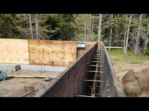 Amazing Primitive Technology How To Building And Setup Concrete Platforms For Homes Youtube Concrete Wall Concrete Forms Concrete