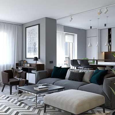 Gri Duvar Boyasi Renk Tonlari Ve Ornekleri Evde Mimar 2020 Yatak Odasi Ic Mekan Ev Ic Tasarimi Oturma Odasi Fikirleri