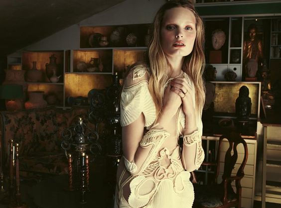 AGNETE HEGELUND BY JIMMY BACKIUS FOR DANSK SPRING 2012