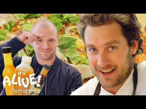 Brad And Sean Evans Make Cast Iron Pizza It S Alive Bon Appetit Youtube Cast Iron Pizza Cast Iron Skillet Pizza Bon Appetit