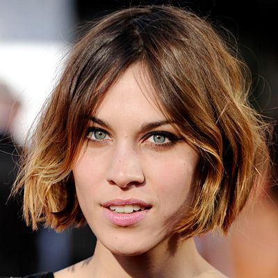 Prime Alexa Chung Short Bobs And Bobs On Pinterest Hairstyles For Men Maxibearus