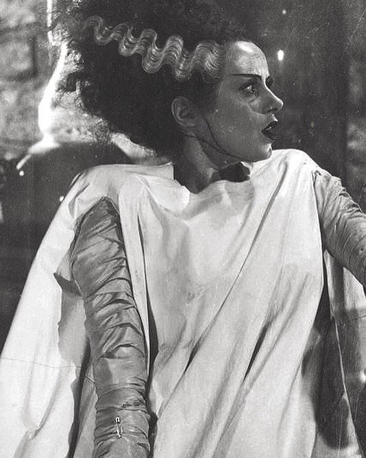 Elsa Lanchester The Bride of Frankenstein 8x10 Photo #1