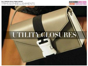 The @AccessoriesMagazine Fall/Winter '15-'16 Trim and Embellishments Report is here -- a wonderful source for design inspiration for our upcoming collections #accessories #DesignTrends
