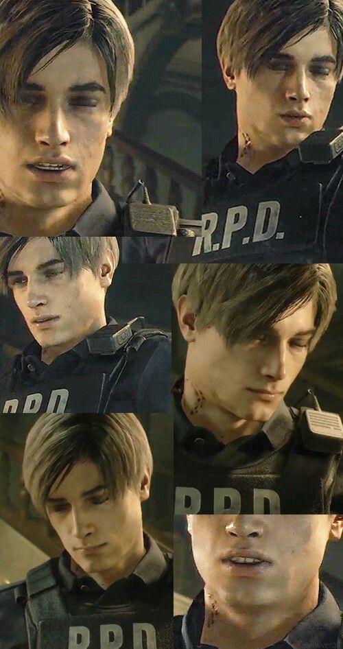 Leonkennedy Re2 Remake Resident Evil Leon Resident Evil Game