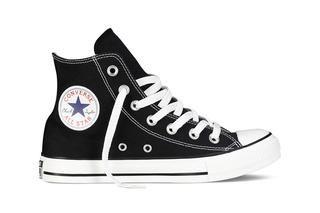 All star hi black zwart | Zwart, Schoenen, Sneaker