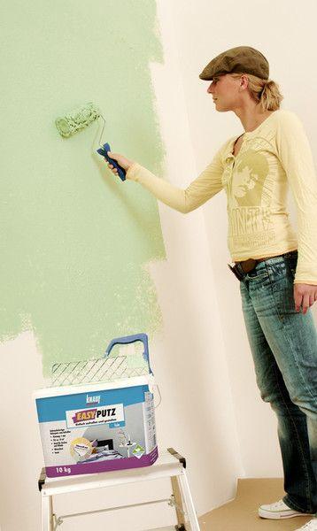 Wände schnell verputzt
